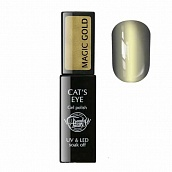Trendy Nails Cats Eye Magic Gold, 8 мл