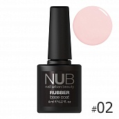 NUB Rubber Base Coat № 02, 8 мл
