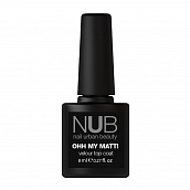 NUB Top coat Oh my matt, 8 мл