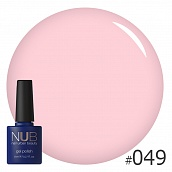 Гель-лак NUB № 049 Lovely Peach, 8 мл
