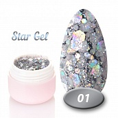 Star gel Nice for you № 01, 5 g