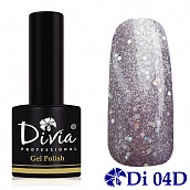 Гель-лак Diamond Platinum Collection Divia Di310 - №04D, 8 мл