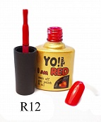 Гель лак Yo!Nails I am red № 12