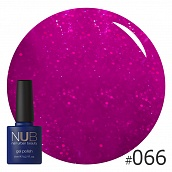 Гель-лак NUB № 066 Beauty Editors, 8 мл
